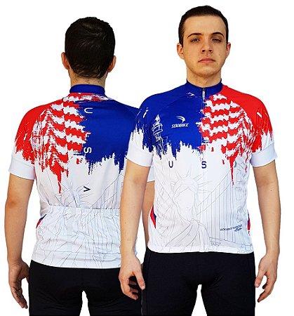 Camisa Ciclismo Sódbike Nações - USA