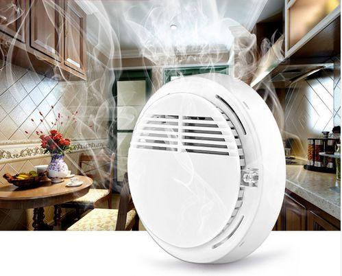 Detector de Incêndio Alarme de Fumaça sem fio 433 MHz