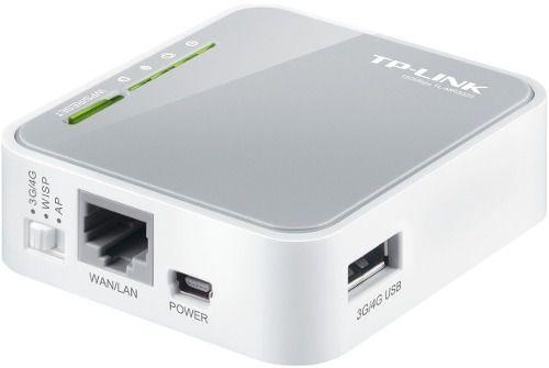 Mini Roteador 3G/4G Wireless Portatil Tp-link TL-MR 3020 Wifi