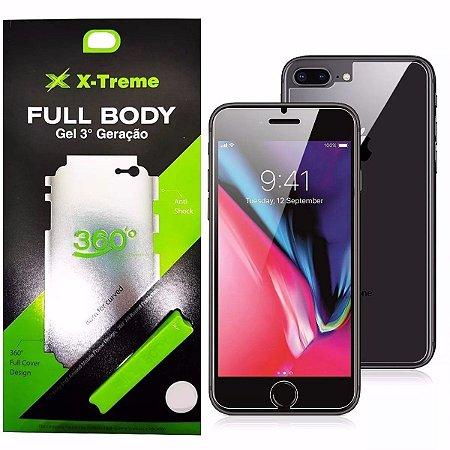 Pelicula de Gel Full Body Frente e Verso Iphone 7/8
