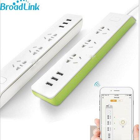 Tomada inteligente wi-fi s/ fio tomada de energia com carregador usb / 3G 4G controle remoto p/ smart home