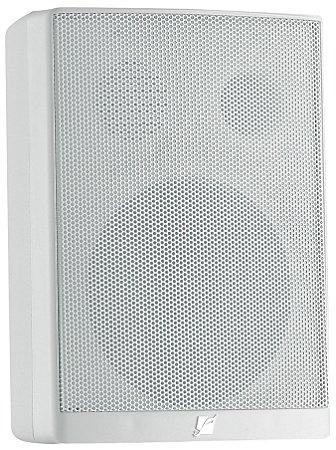 Caixa Acústica Frahm PS200 Plus, para Som Ambiente, 30W RMS - Branca (Par)
