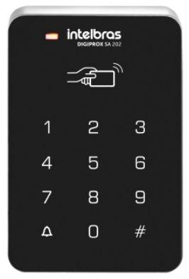 Controlador de acesso Digiprox SA 202 125 kHz Intelbras