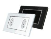 Espelho de vidro com 3 posições (Branco ou Preto) TL42-AK3