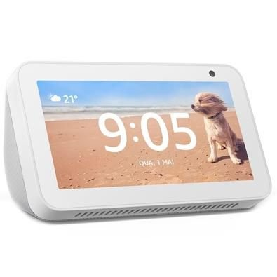 Echo Show 5 Amazon Smart Speaker Branca Alexa em Português