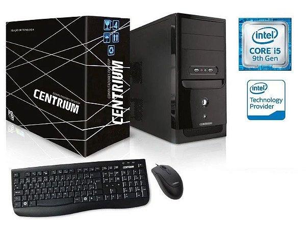 COMPUTADOR DESKTOP LINUX CENTRIUM (63348-3) ELITELINE 9400F INTEL CORE I5-9400F 2.9GHZ 4GB DDR4 120GB SSD LINUX