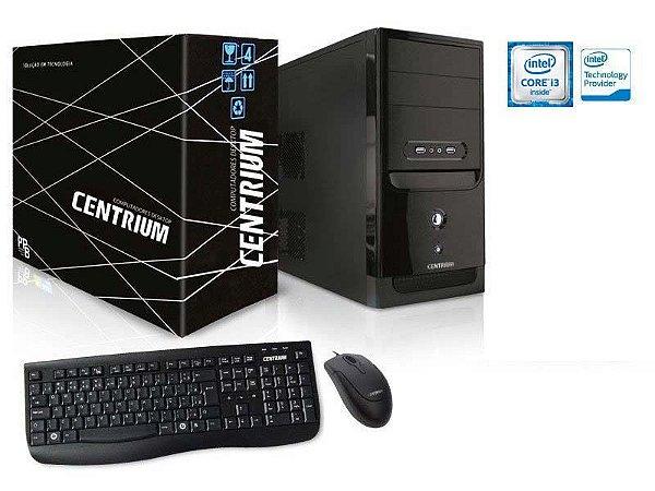 COMPUTADOR DESKTOP LINUX CENTRIUM  FASTLINE 8100 INTEL CORE I3-8100 3.6GHZ 4GB DDR4 120GB SSD LINUX