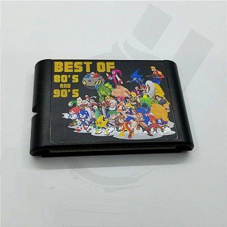 Cartucho Mega Drive 196 jogos em 1 Multi Games
