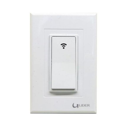 Interruptor Inteligente Wifi Simples 1 Tecla Caixa 4X2