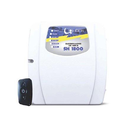 Eletrificador de Cerca e central de alarme SH1800