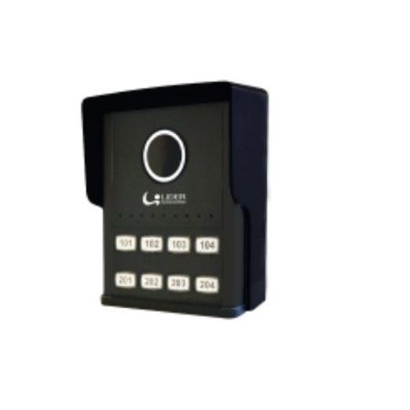 Interfone Porteiro Coletivo Smart 8 Pontos