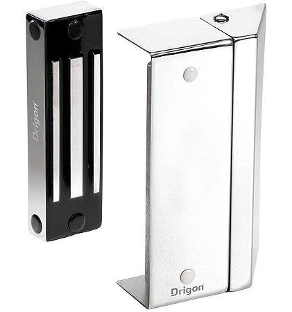 Fechadura Eletromagnética para Portas de Vidro Advance Multifuncional 120 KgF