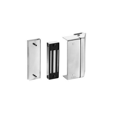 Fechadura Eletromagnética para Portas de Vidro Advance Multifuncional 170 KgF