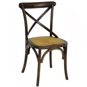 Cadeira Paris castanha