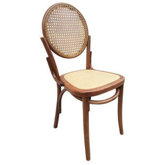 Cadeira Camburi com encosto em palha