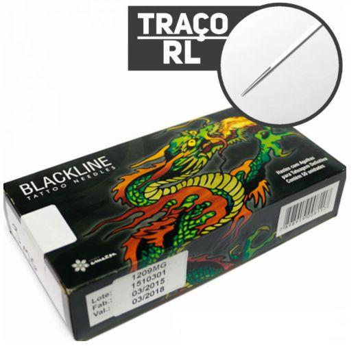 AGULHA BLACKLINE TRAÇO - CAIXA COM 50 UNIDADES