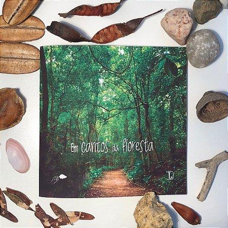 Livro Em Cantos da Floresta