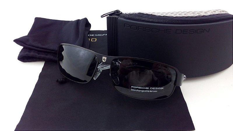 Óculos De Sol Escuros Driver Aviator P8000 Uv400 Polarizado Police Polícia