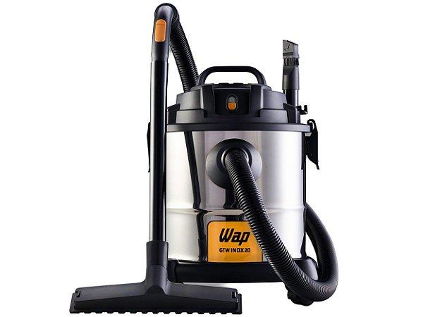 Aspirador de Pó e Água Wap 1600W - GTW Inox 20