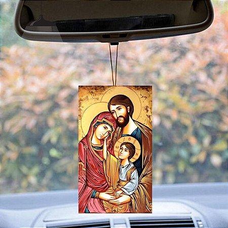 Aromatizante veicular sagrada família aroma româ