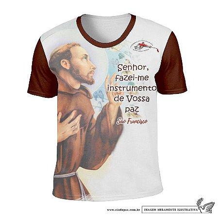 Camisa Fraternidade São Francisco na Providência de Deus