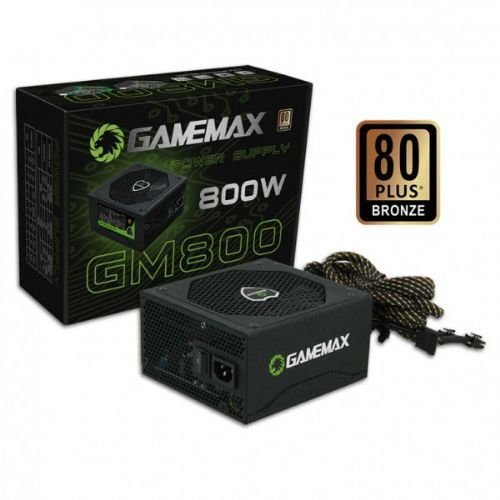 Fonte ATX 800W Gamemax 80 Plus Bronze (GM800)