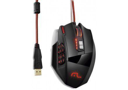 Multilaser Mouse Gamer Laser 18 Botões 4000dpi Preto