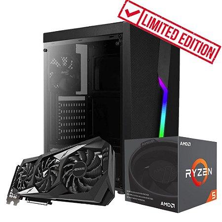 PC ARENA GEEK - RYZEN 5 3400G + GTX 1660 6GB