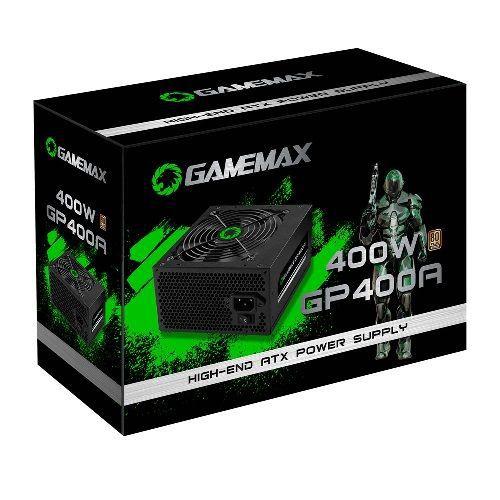 Fonte ATX 400W 80Plus Bronze Gamemax GP400A