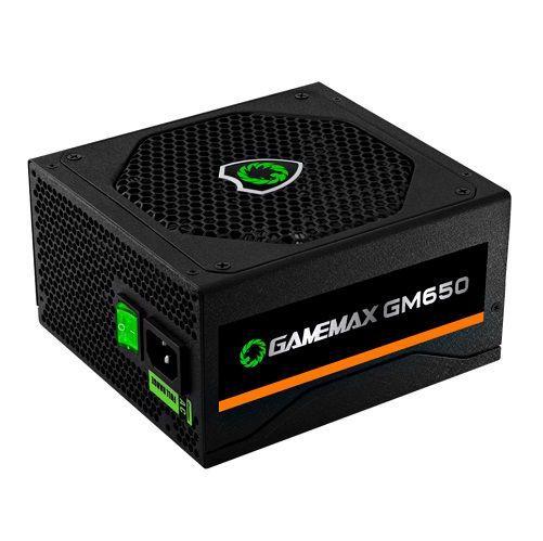 Fonte ATX 650W 80Plus Bronze PFC Ativo Gamemax GM650