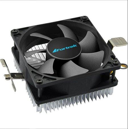 Cooler Para CPU 80x80x55mm CLR-102 FORTREK