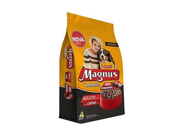 Ração Magnus Todo Dia Sabor Carne para Cães Adultos 15kg