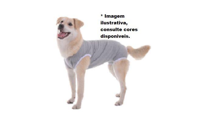 Roupa Pós-Cirúrgica Mi Au para Cães unissex- tamanho 6 (16 á 23kg - 49 á 52cm)