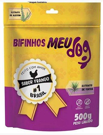 Bifinhos Meu Dog sabor Frango para cães 500gr