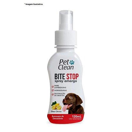 Bit Stop Spray Amargo e Repelente da Pet Clean 120 ml