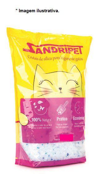 Granulado Sanitário SandriPet Cristais de Silíca  para Gatos 1,6kg