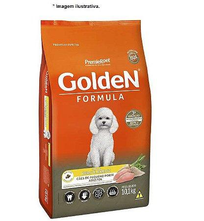 Ração Golden Formula Peru & Arroz para Cães Adultos de Pequeno Porte 10,1kg