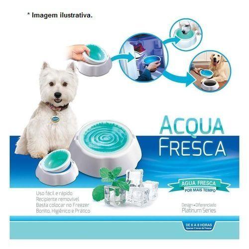 Bebedouro de Água Gelada  Acqua Fresca para Cães e Gatos