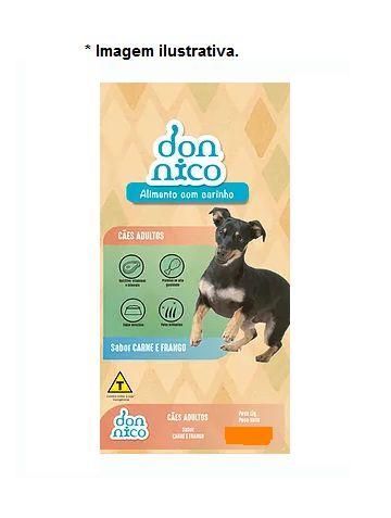 Ração Don Nico para Cães Adulto sabor Carne e Frango 20kg