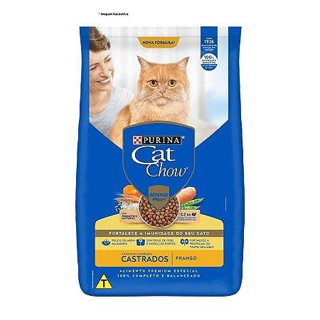 Raçao Purina Nestlé Cat Chow Castrado Frango 7,5kg