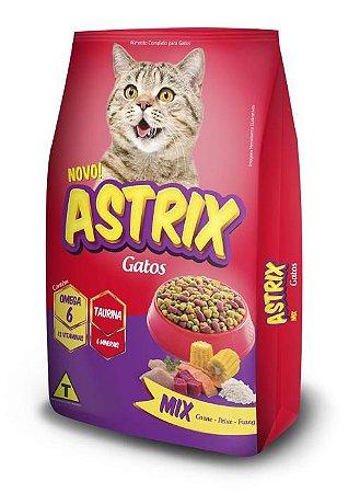 Ração Astrix Gatos Mix de sabores 20kg Argepasi