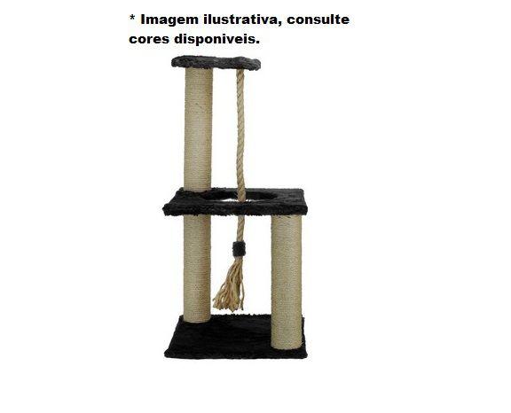 Brinquedo Arranhador para Gatos Playground 3 Andares Bombeiro