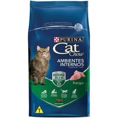 Ração Cat Chow Ambientes Internos Frango 10,1kg