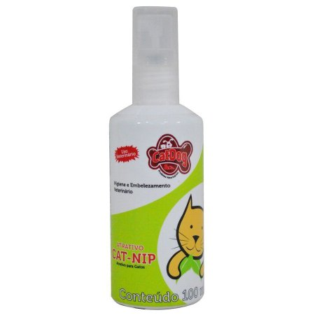 Spray Atrativo Erva do Gato Catnip 100ml CatDog