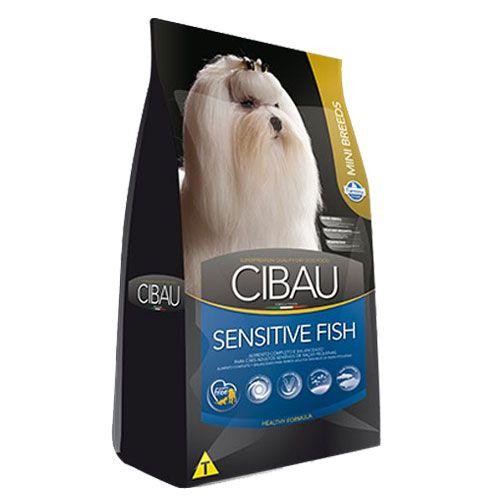 Ração Farmina Cibau Sensitive Fish Mini para cães Raças Pequenas 10,1kg