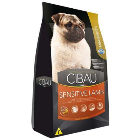 Ração Farmina Cibau Sensitive Lamb para Cães Adultos de Raças Pequenas 3kg