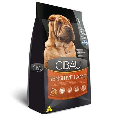 Ração Farmina Cibau Sensitive Lamb para Cães Adultos de Raças Médias e Grandes 12kg