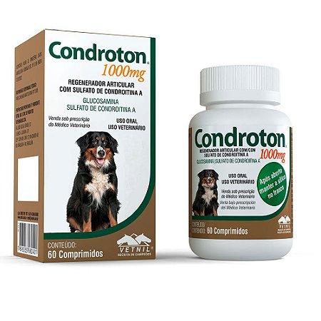Condroton Vetnil Regenerador Articular 1000 mg 60 comprimidos
