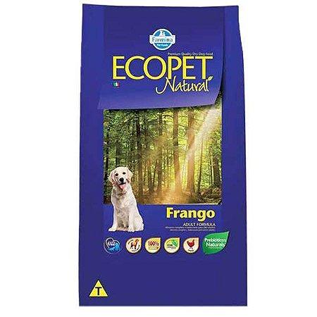 Ração Farmina Ecopet Natural Frango para Cães Adultos de Raças Médias e Grandes 15kg