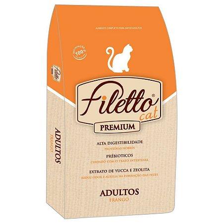 Ração Filetto Cat Frango Premium 25kg